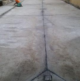 IX.kerület Soroksári út 42 beszakadt társasházi udvar helyreállítása – Utána