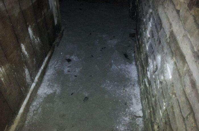 IX.kerület Lenhossék utca 10 szivattyúzás, pincetakarítás – Fekália, fertőző hulladék elszállítása – Utána